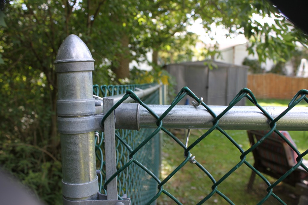 Chain Link Armor Fence